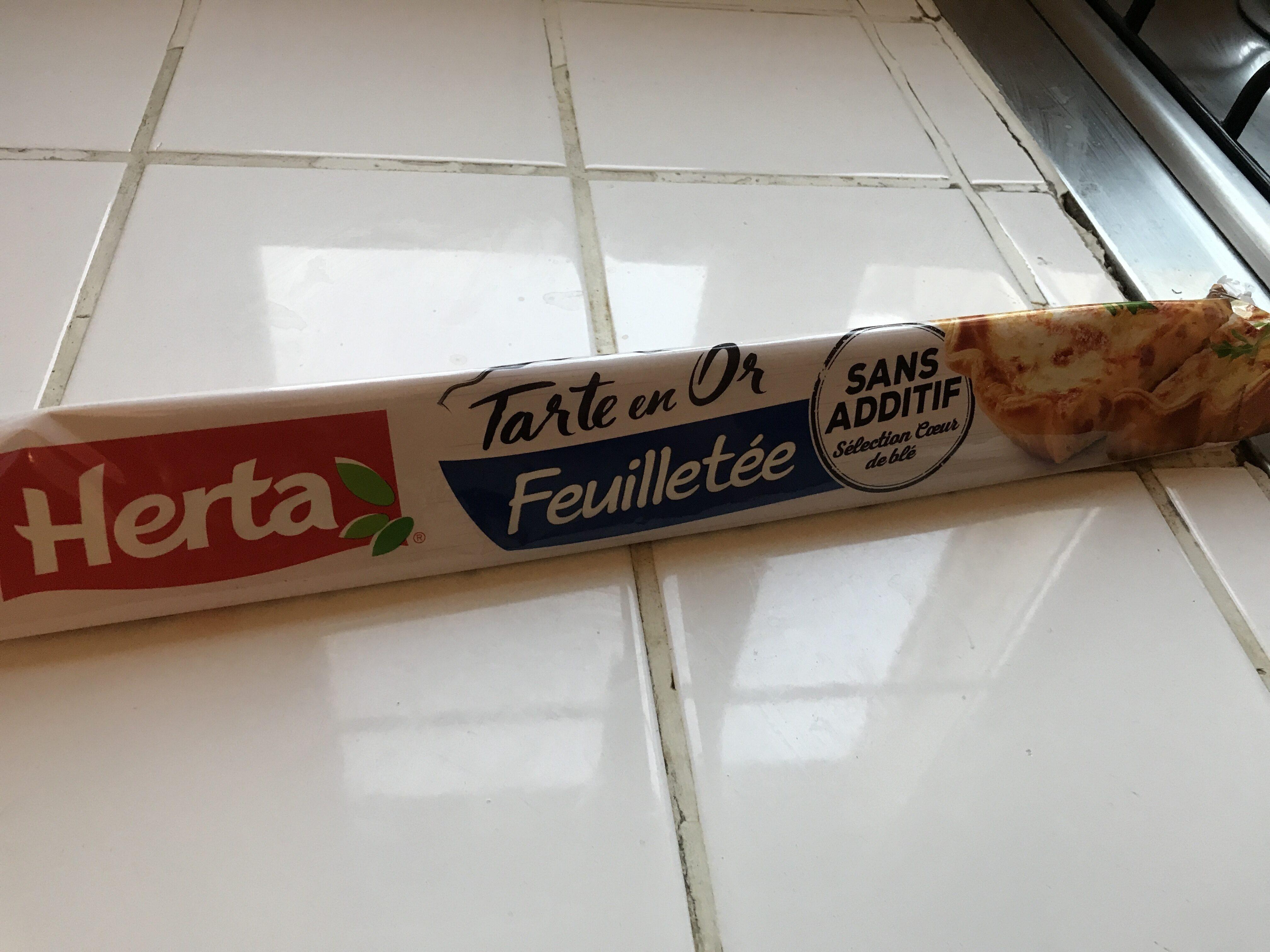 Pâte feuilleutée - Informations nutritionnelles - fr