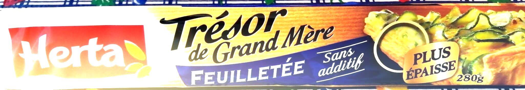 Trésor de grand mère feuilletée - Produit - fr
