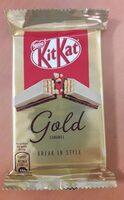 Kitkat gold caramel - Produit - fr