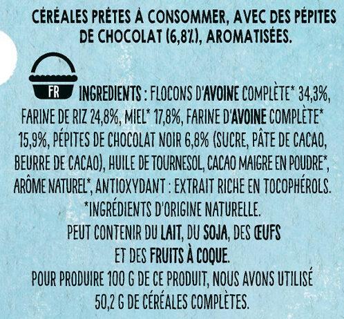 NESTLE NAT Ourson Chocolat 6x32g - Ingrédients - fr
