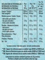 NESTLE NAT Ourson Chocolat 6x32g - Informations nutritionnelles - fr