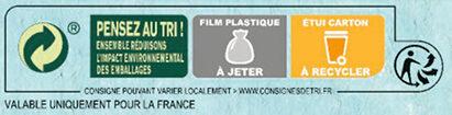 NESTLE NAT Ourson Chocolat 6x32g - Instruction de recyclage et/ou informations d'emballage - fr