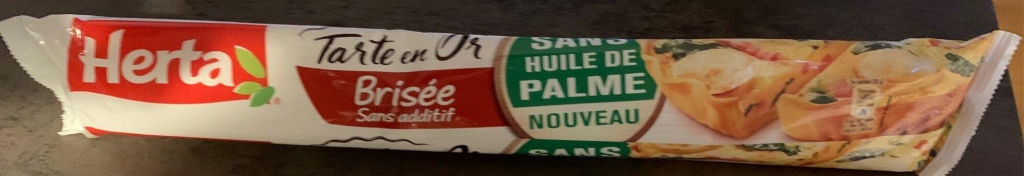 Pate Brisée sans additif - Product - fr