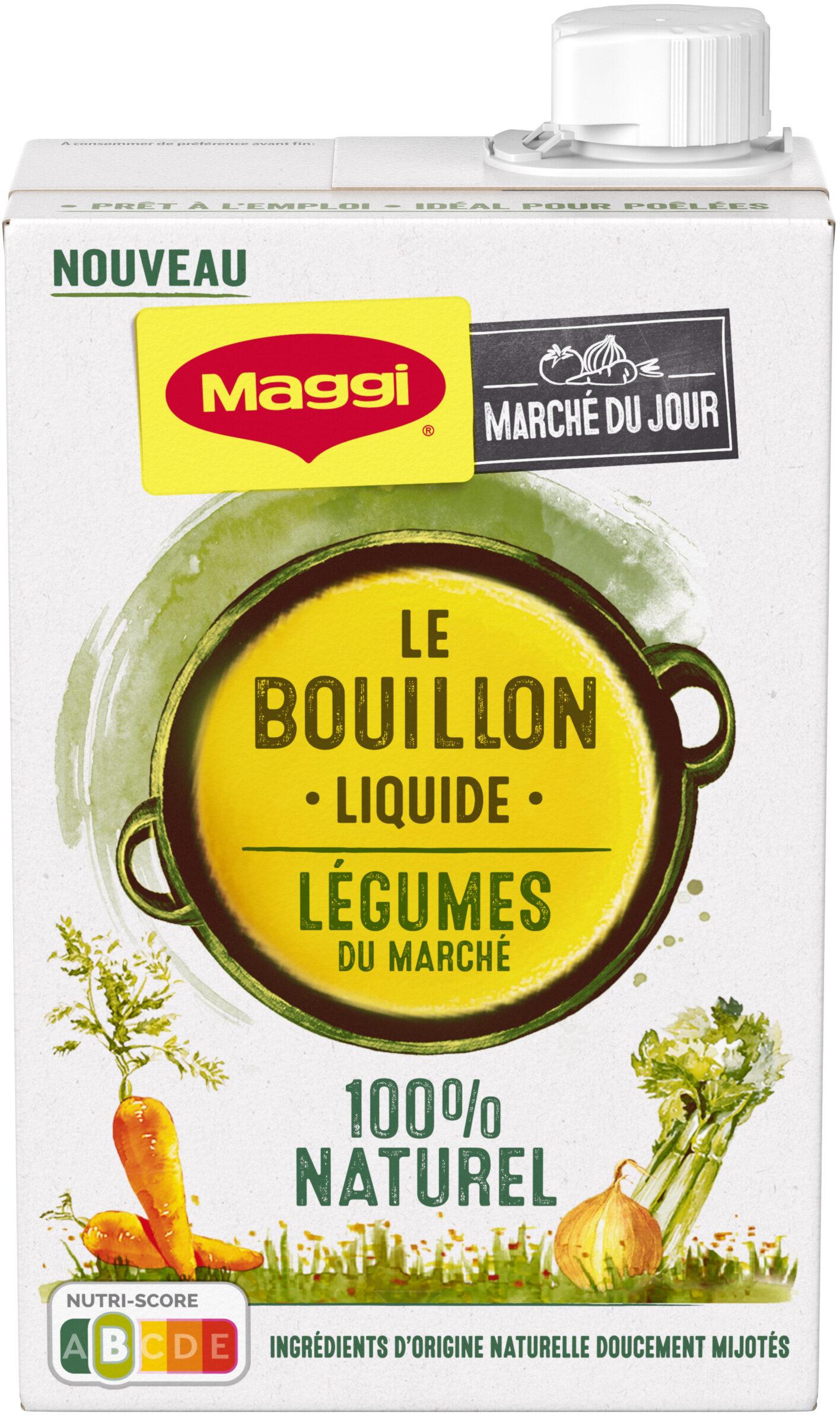 MAGGI Le Bouillon Liquide Légumes - Prodotto - fr