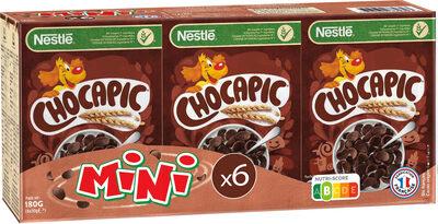 NESTLE MINI CHOCAPIC Céréales Petit Déjeuner 6x30g - Product - fr