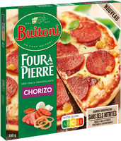 BUITONI FOUR A PIERRE Pizza Chorizo - Produit - fr