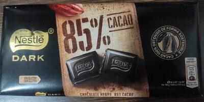Nestle Dark 85 % cacao - Product - es