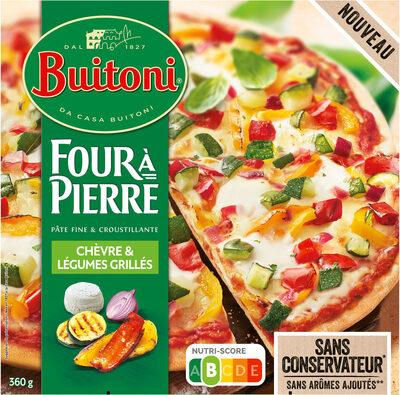 BUITONI FOUR A PIERRE Pizza Chèvre Légumes - Produit - fr