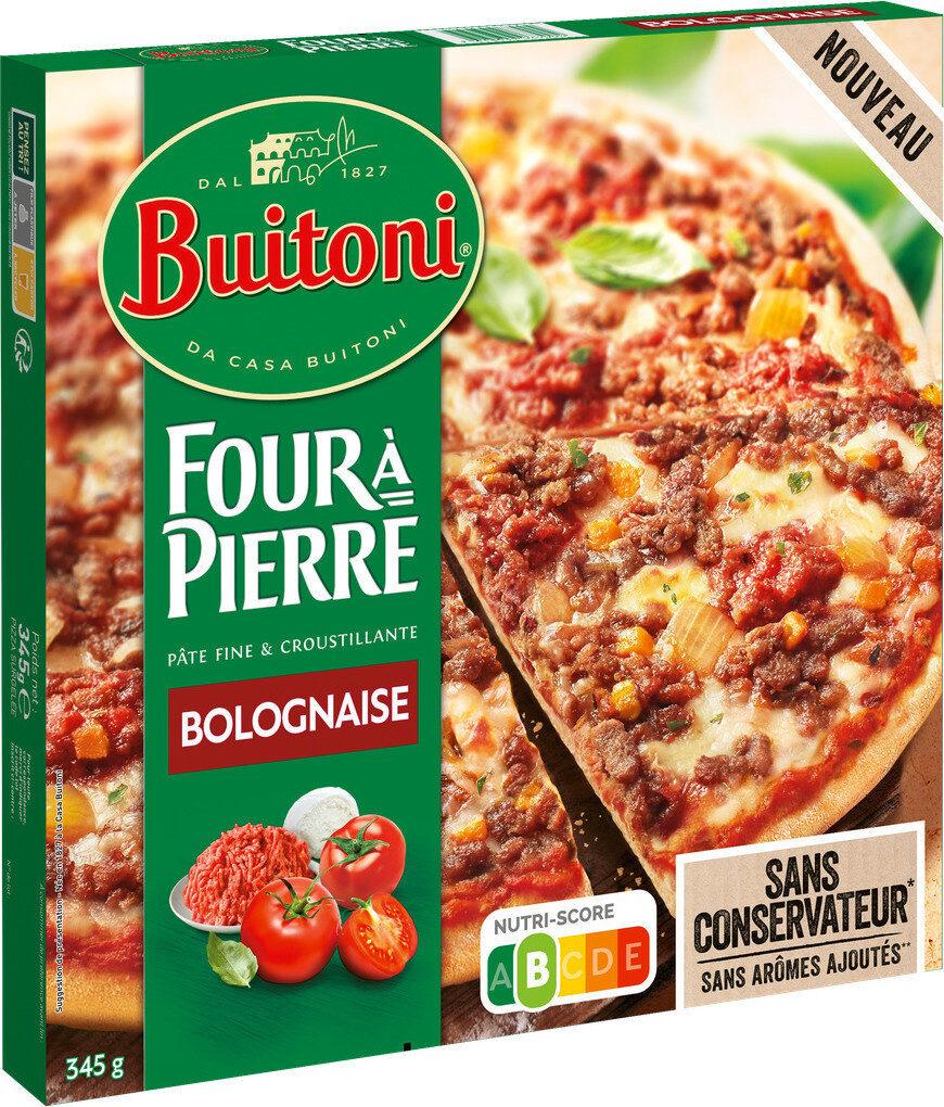 BUITONI FOUR A PIERRE Pizza Bolognaise - Produit - fr