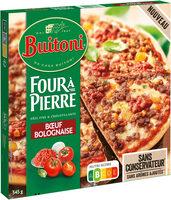 BUITONI FOUR A PIERRE Pizza Bœuf Bolognaise - Produit - fr