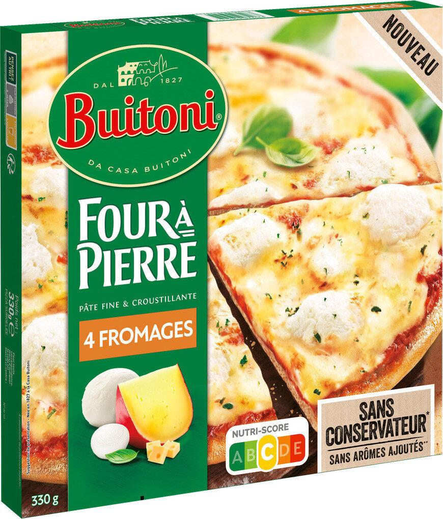 BUITONI FOUR A PIERRE Pizza 4 Fromages - Produit - fr