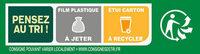 BUITONI FOUR A PIERRE Pizza 4 Fromages - Instruction de recyclage et/ou informations d'emballage - fr