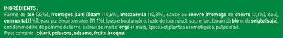 BUITONI FOUR A PIERRE pizza surgelée 4 Fromages MAXI 3X330g - Ingrédients - fr