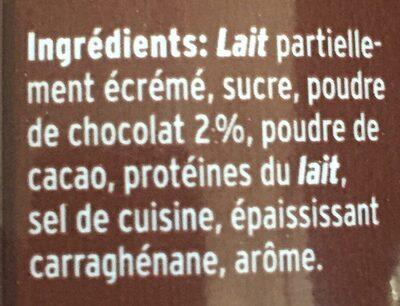 Comella Choco Drink - Ingrédients - fr