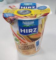 Hirz Yogourt rhubarbe de Lucerne - Produit
