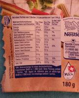 Hirz Yogourt rhubarbe de Lucerne - Informations nutritionnelles