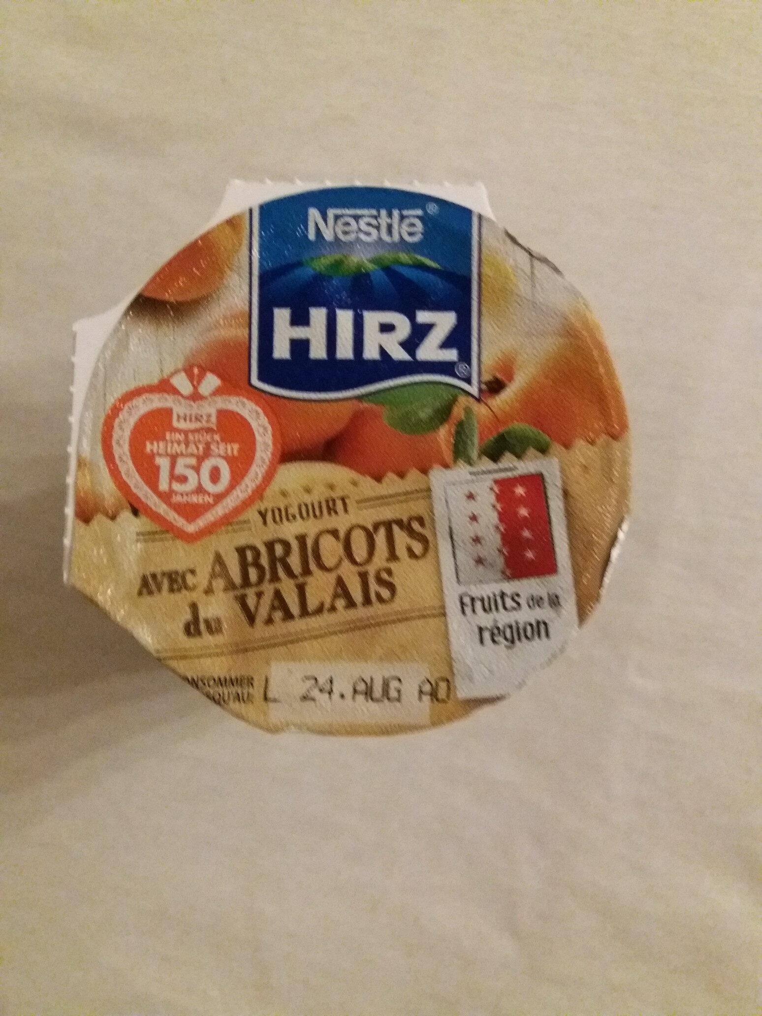 Joghurt mit Walliser Aprikosen - Product - fr