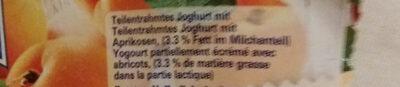 Joghurt mit Walliser Aprikosen - Ingredients - fr