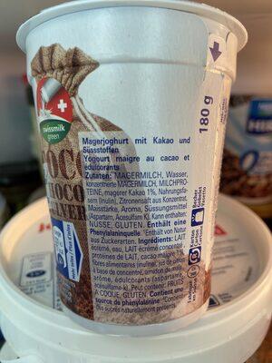 Hirz choco 0% - Ingredienti - fr
