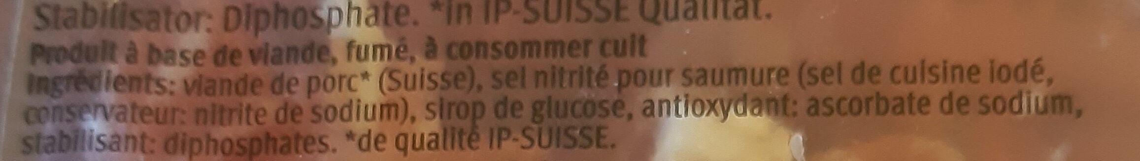 Dés de lard fumé - Ingredients - fr