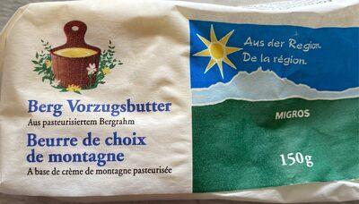 Beurre de choix de montagne - Prodotto - fr