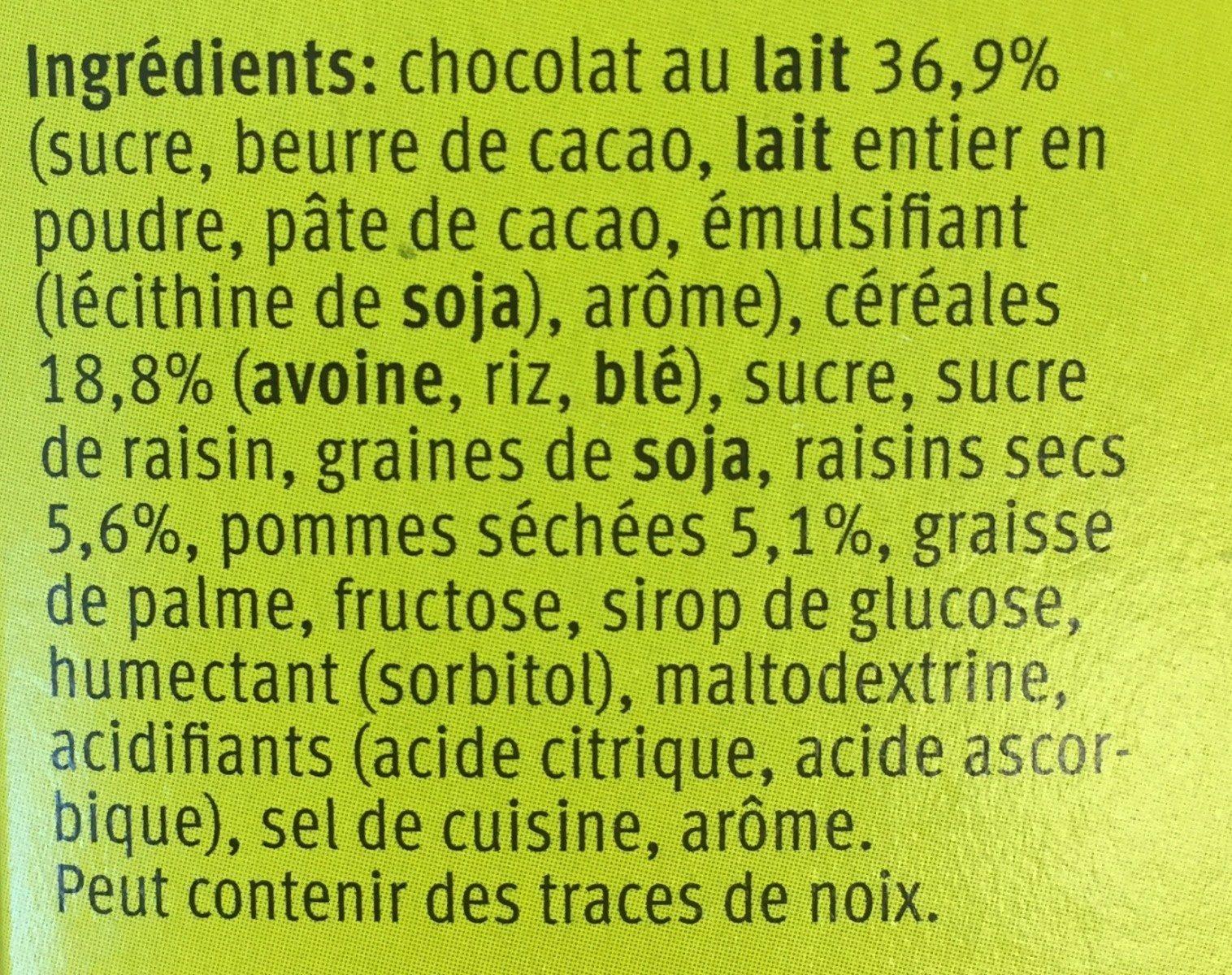 Farmer Soft Choc Apfel - Ingredients