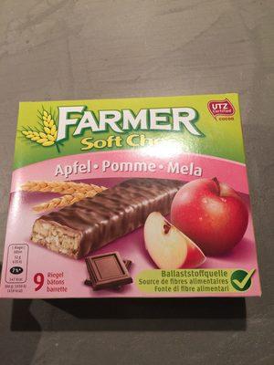 Farmer Soft Choc Apfel - Nutrition facts