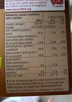 Soft Choc : Chocolat Noir - Valori nutrizionali - fr