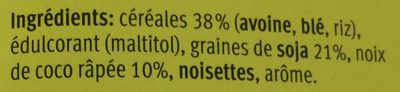 Farmer Crunchy Natural - Ingredients