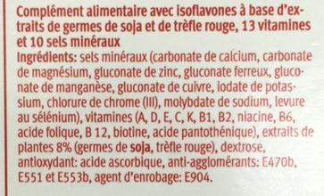 Ladies - Ingrédients - fr