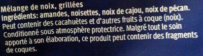 Mélange de noix de qualité - Ingrédients - fr