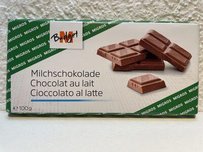 Chocolat au lait aux éclats de noisettes - Product - fr