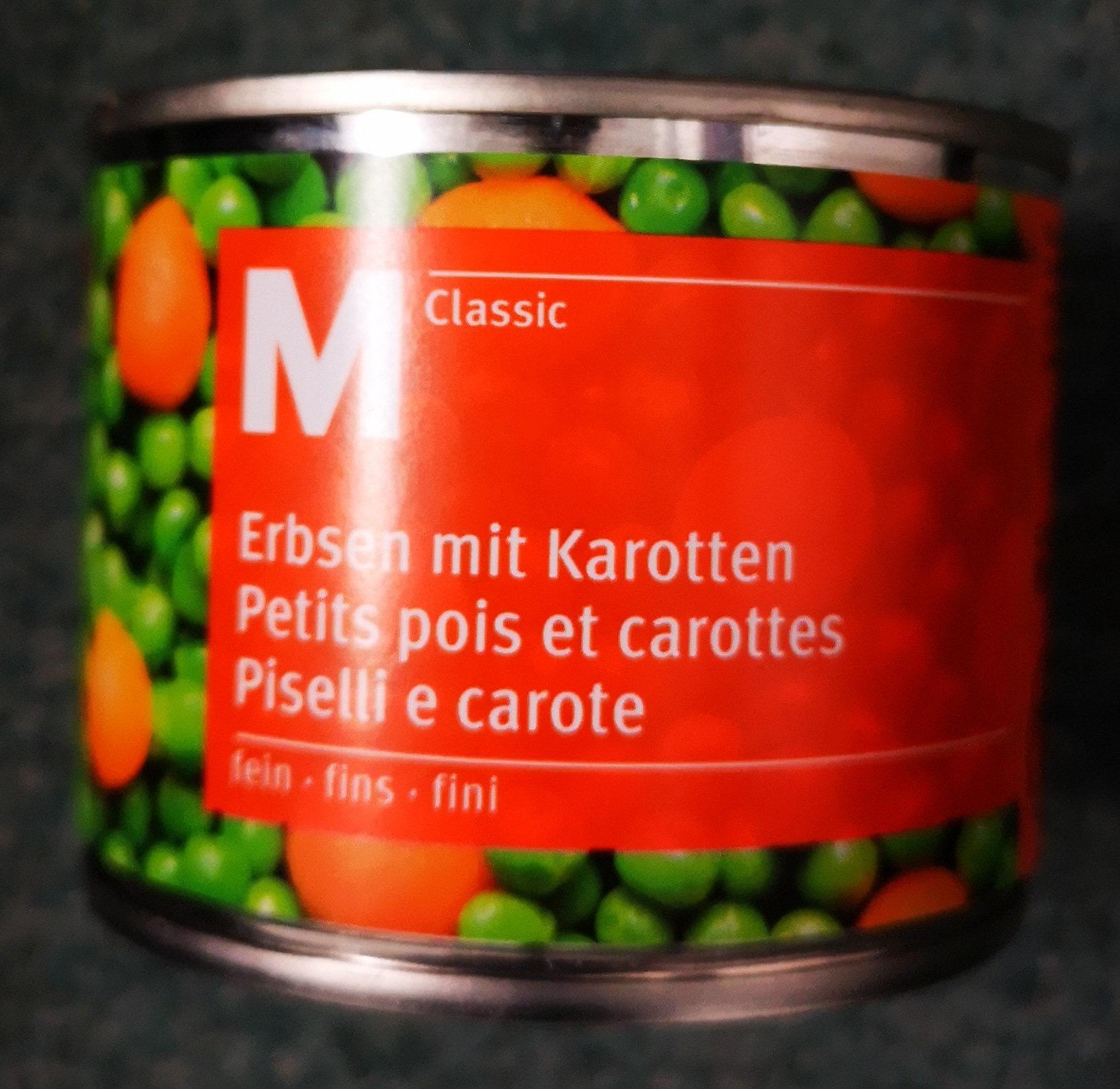 Petits pois et carottes - Produit
