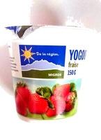 yogourt Fraise - Product