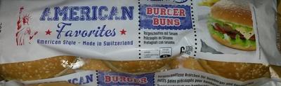 Burger Buns - Product