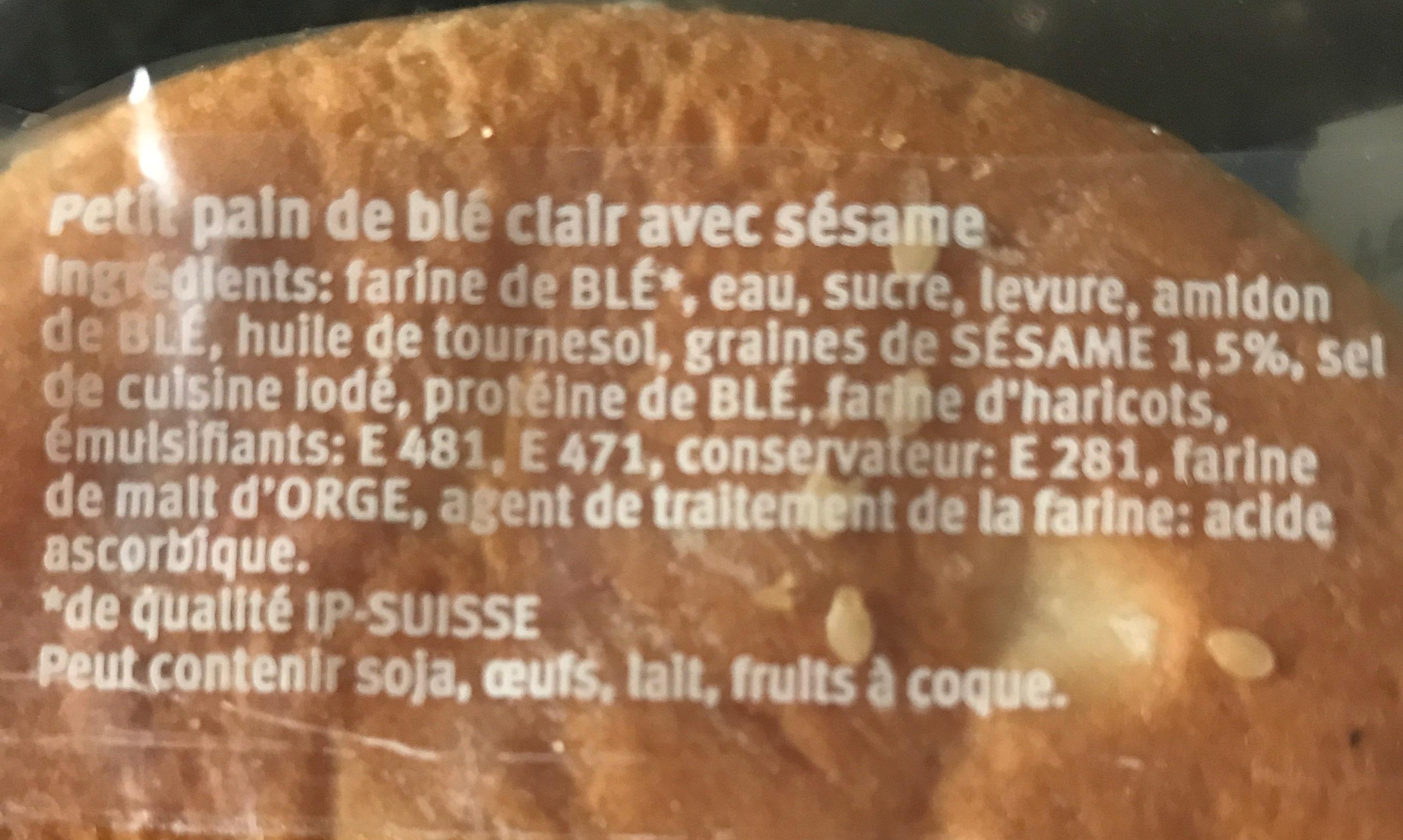 Burger Buns - Ingrediënten