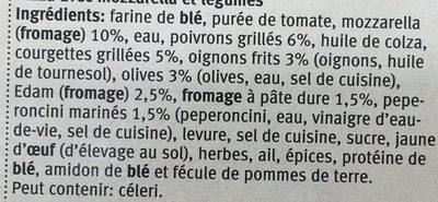 Verdura - Ingredients