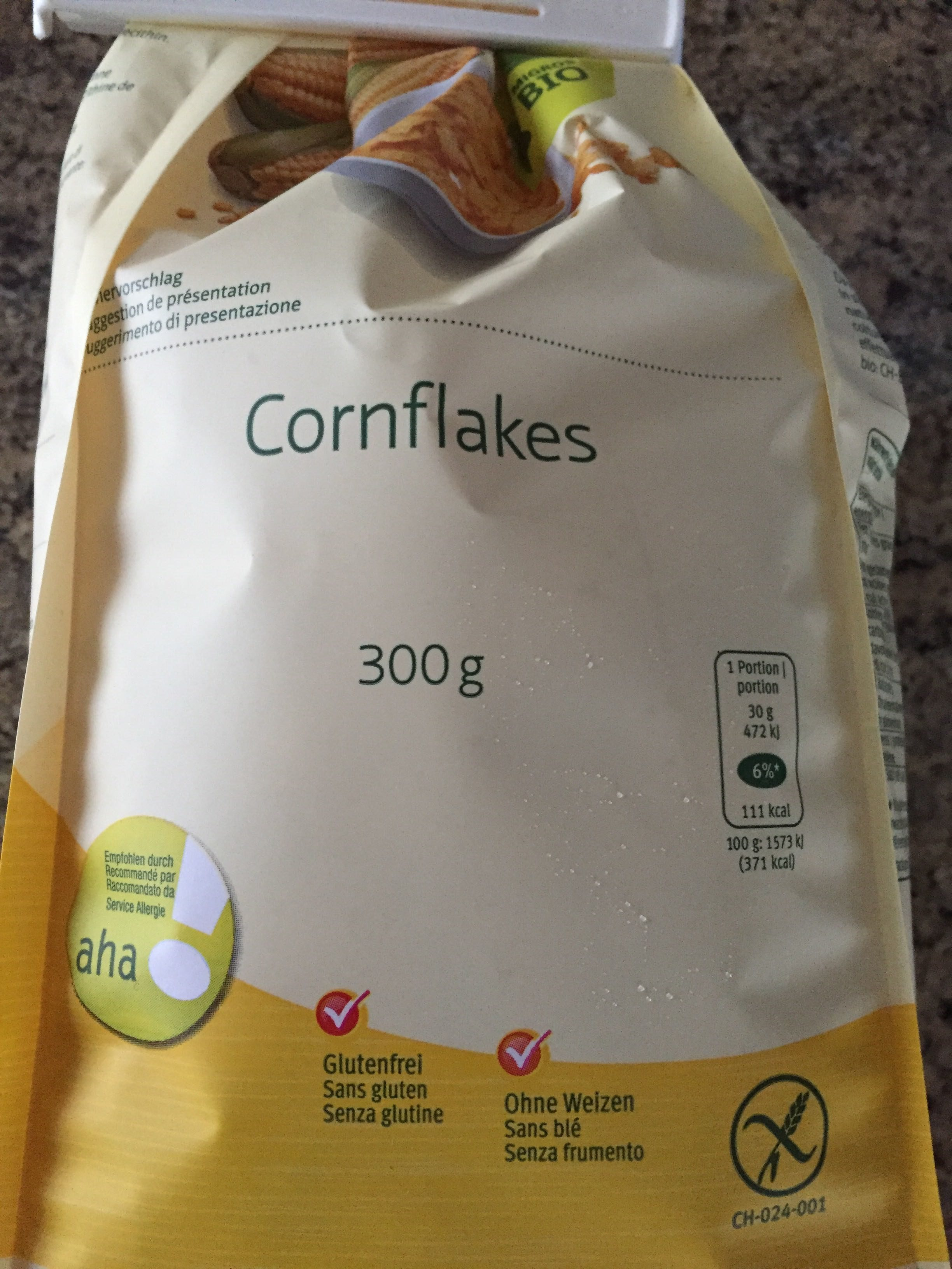 Migros Bio Aha Corn Flakes - Product