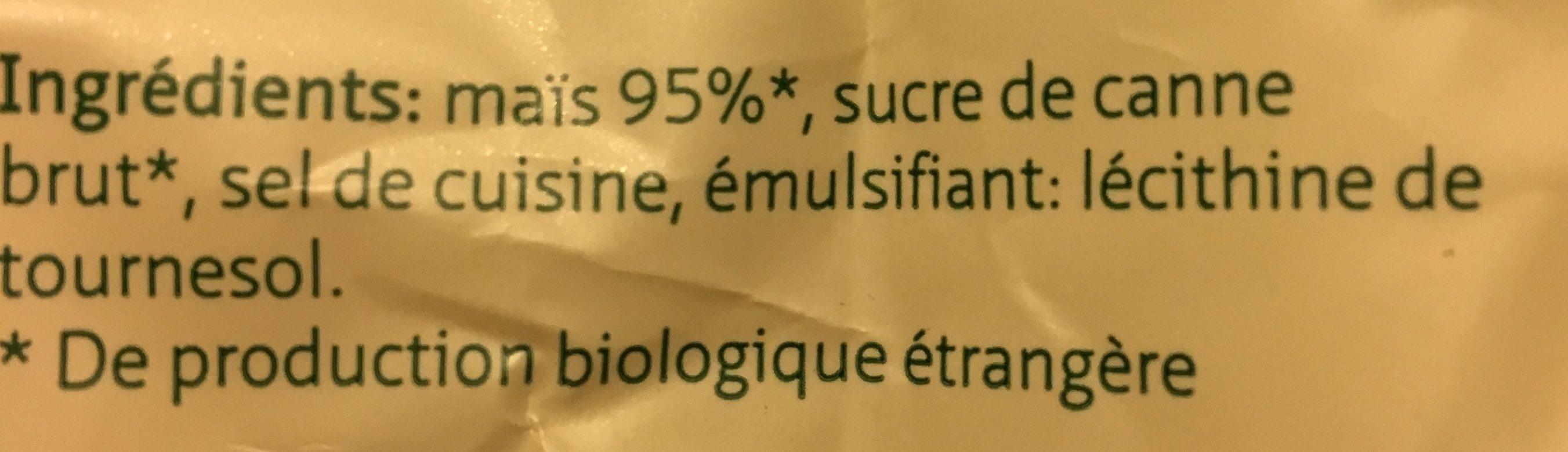 Migros Bio Aha Corn Flakes - Ingredients