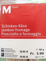 Sandwich Jambon fromage - Product - de