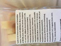 Sandwich Jambon fromage - Ingredients