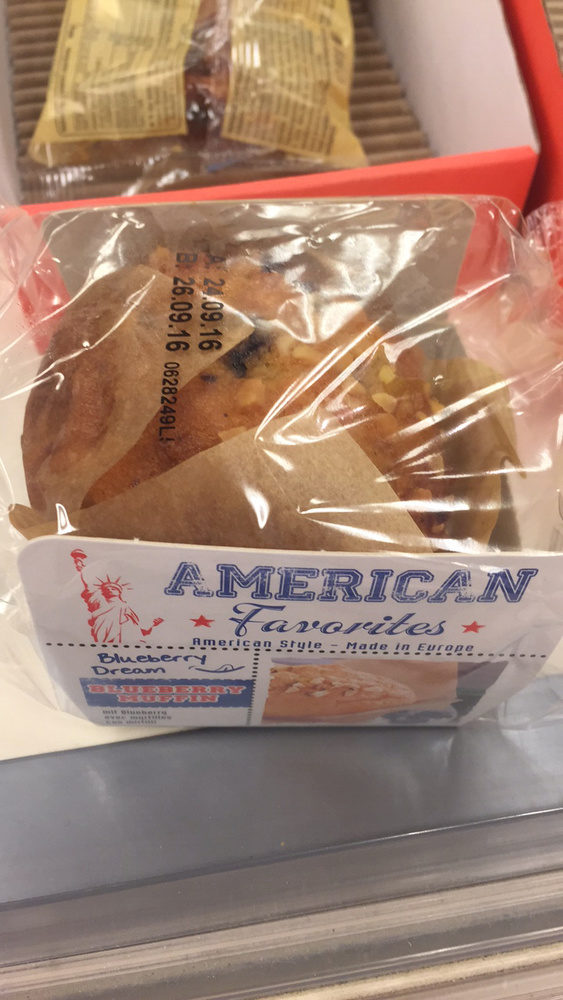 Muffin au myrtille - Produit - fr