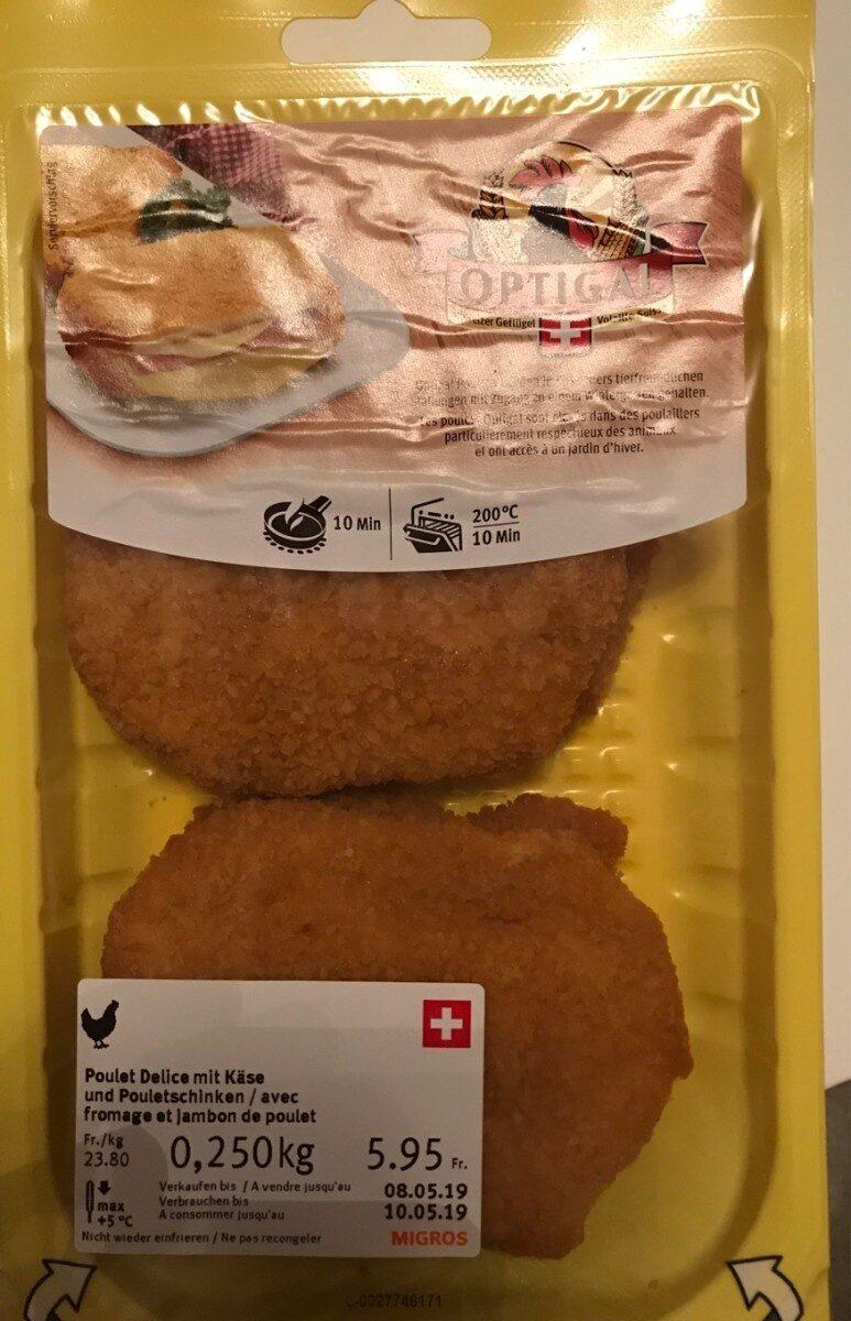 Poulet avec fromage et jambon - Product