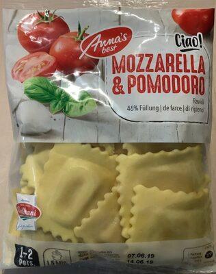 Ravioli mozzarella e pomodoro (mozzarella et tomate) - Product - fr