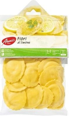 Pâtes fraîches aux oeufs farcies au fromage et au citron - Product