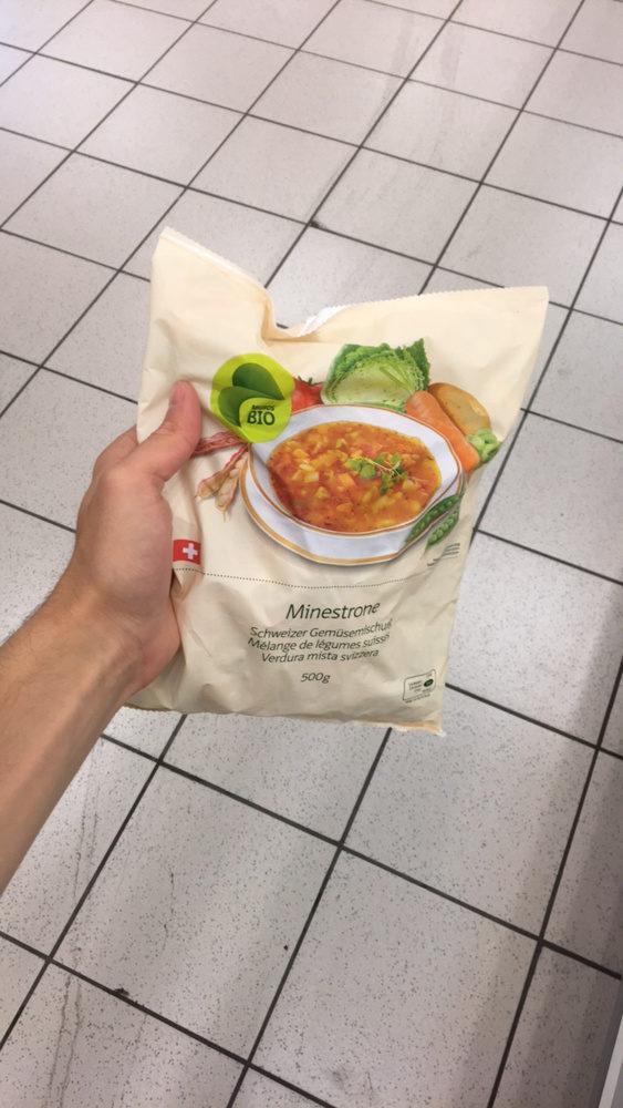 Minestrone melange de legumes suisse - Produit