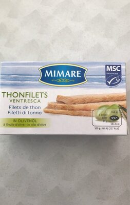 Thonfilets In Olivenöl - Produit - fr