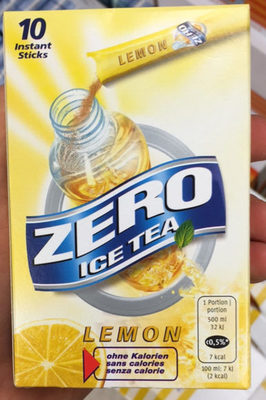 Zero Ice Tea Lemon - Product - fr