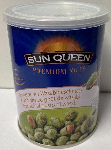 Premium Nuts Erdnüsse mit Wasabigeschmack - Prodotto - de