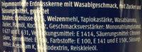 Premium Nuts Erdnüsse mit Wasabigeschmack - Ingredienti - de